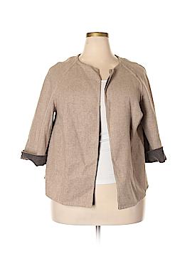 Jones New York Collection Wool Blazer Size 1X (Plus)