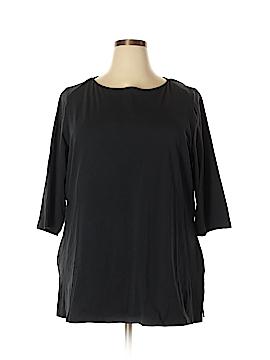 Jessica London Short Sleeve T-Shirt Size 22 (Plus)