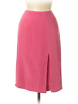Travis Ayers Silk Skirt Size 8