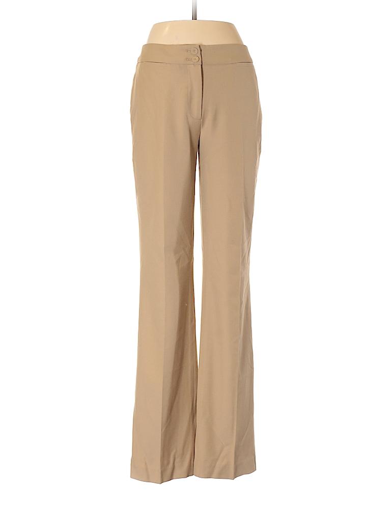 9683ad5bf68 Talbots Solid Tan Dress Pants Size 2 - 90% off