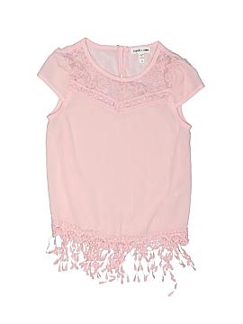 Sophia + Zeke Short Sleeve Blouse Size 4