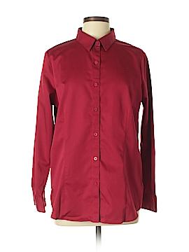 Coldwater Creek Long Sleeve Button-Down Shirt Size 16 (Plus)