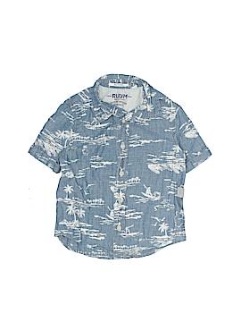 Ruum Short Sleeve Button-Down Shirt Size 2
