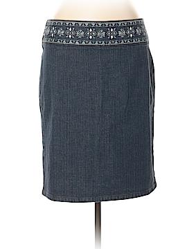 Ann Taylor LOFT Denim Skirt Size 10