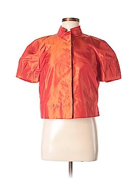 SOCA Short Sleeve Silk Top Size S