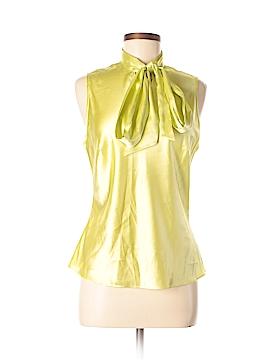 Jax Sleeveless Silk Top Size M