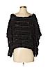 Feline Women Pullover Sweater Size S