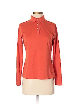 Lady Hagen Long Sleeve Polo Size S