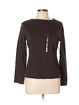 Jones New York Sport Long Sleeve T-Shirt Size L (Petite)