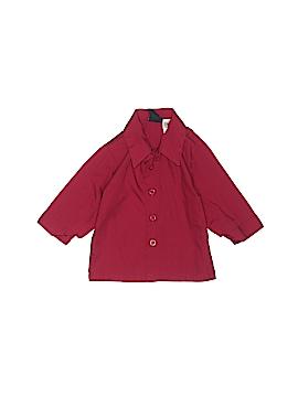 Retro Long Sleeve Button-Down Shirt Size 6-9 mo