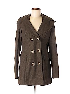 Aqua Wool Coat Size M