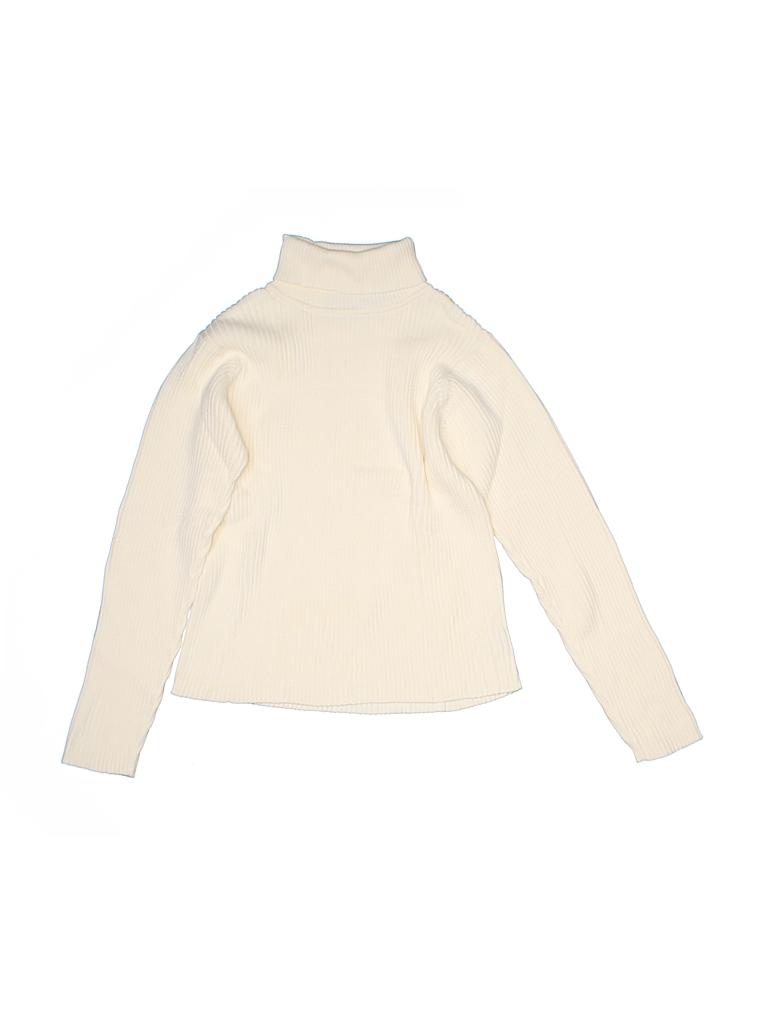 L.L.Bean Girls Turtleneck Sweater Size 10/12