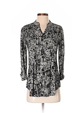 Roz & Ali Long Sleeve Blouse Size S