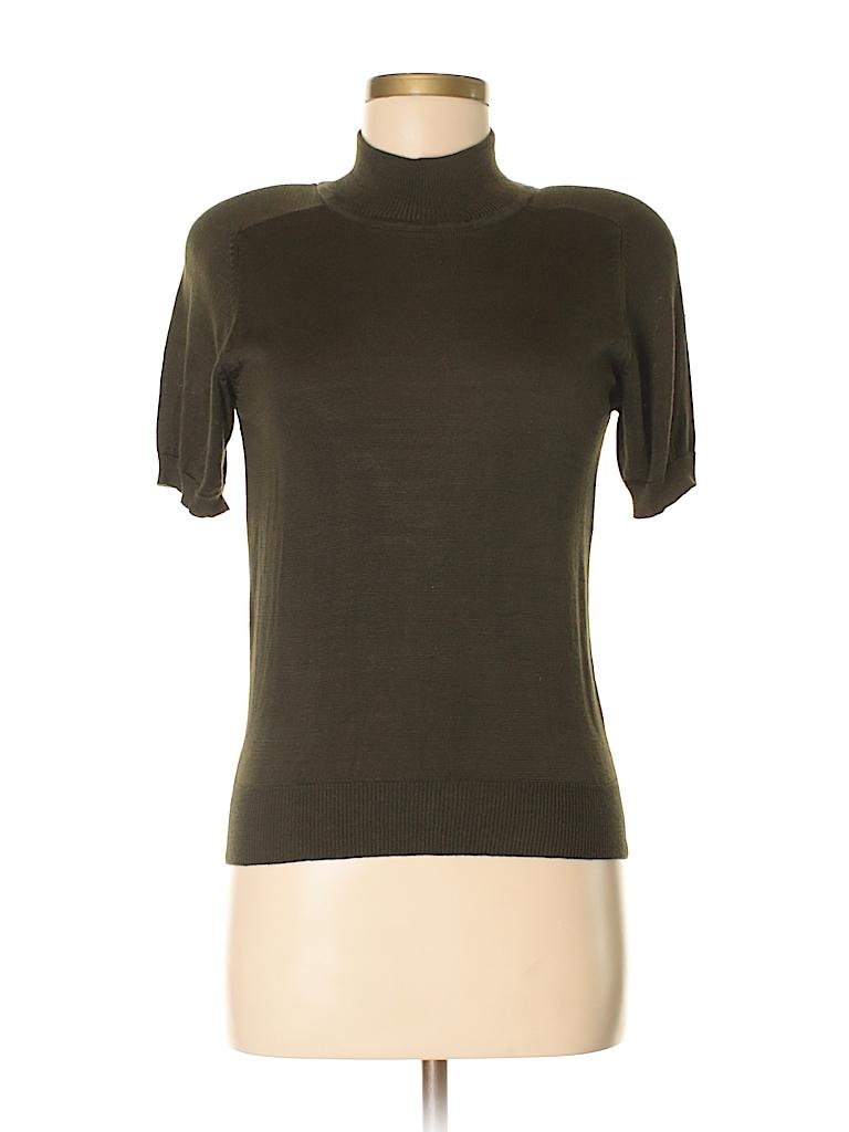 Jones New York Women Silk Pullover Sweater Size P