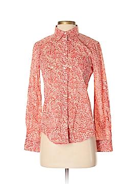 Ann Taylor Factory Long Sleeve Button-Down Shirt Size XS