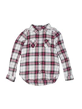 H&M L.O.G.G. Long Sleeve Button-Down Shirt Size 7/8