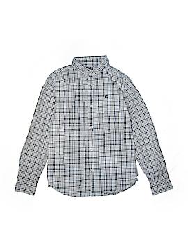Rebel Long Sleeve Button-Down Shirt Size 11 - 12