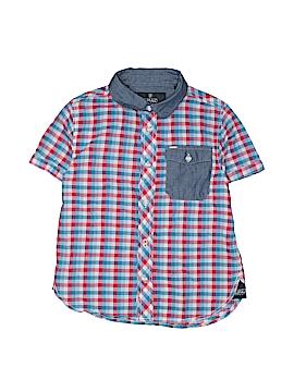 Buffalo by David Bitton Short Sleeve Button-Down Shirt Size 6