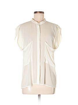 Patterson J. Kincaid Short Sleeve Blouse Size M