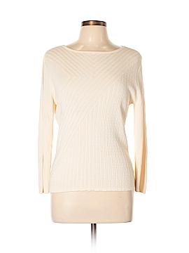 Geoffrey Beene Sport Silk Pullover Sweater Size L