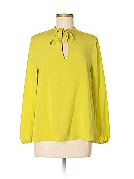 ETRO Long Sleeve Silk Top Size 42 (IT)