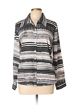Milano Long Sleeve Blouse Size L
