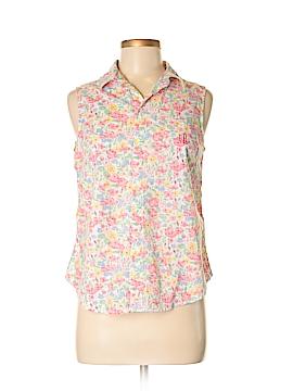 Ralph Lauren Sleeveless Button-Down Shirt Size S