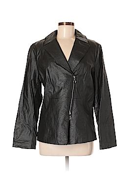 Pamela McCoy Leather Jacket Size M