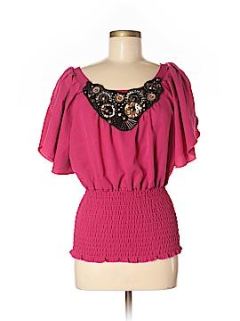XOXO Short Sleeve Top Size M