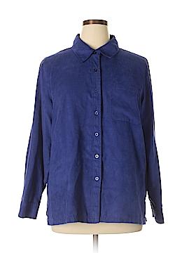 Hillard & Hanson Long Sleeve Blouse Size XL