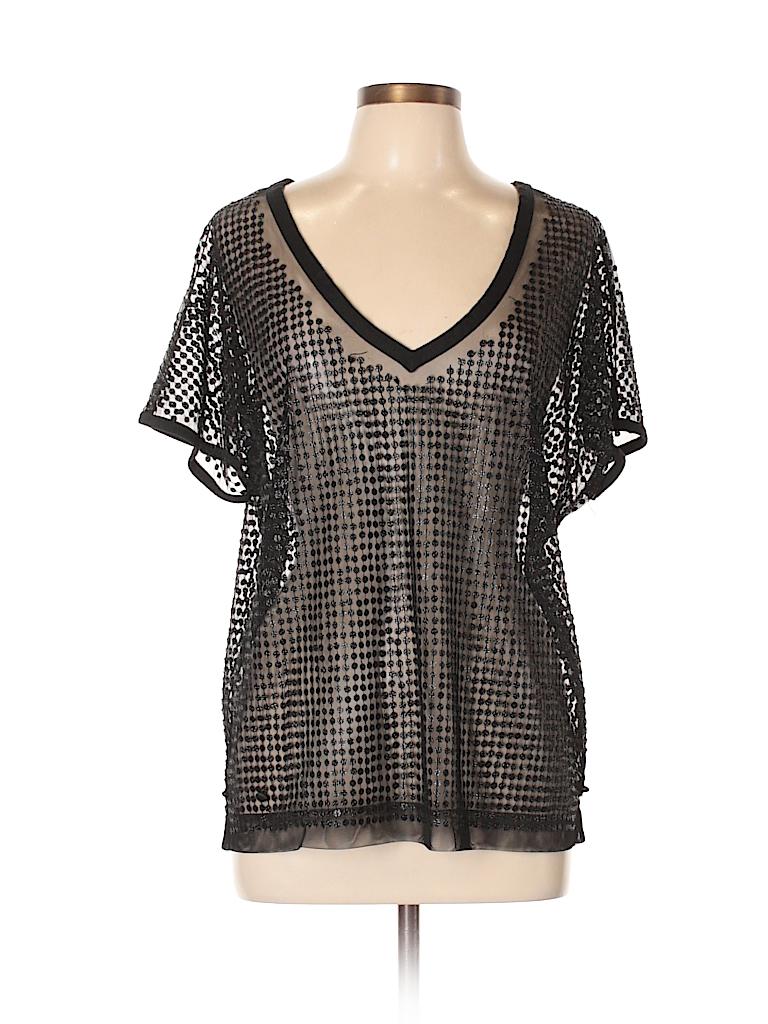 LaROK Women Short Sleeve Blouse Size XS