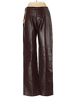 DANIER Leather Pants Size 2