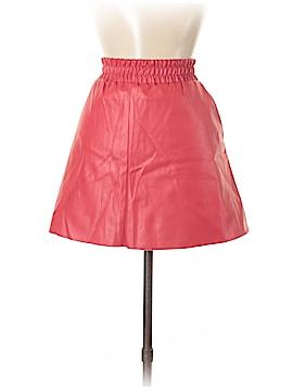 BCBGMAXAZRIA Faux Leather Skirt Size M