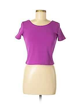 Glamorous Short Sleeve Top Size M