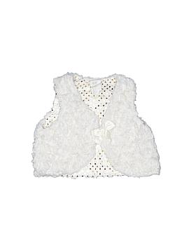 H&M Faux Fur Vest Size 6-9 mo