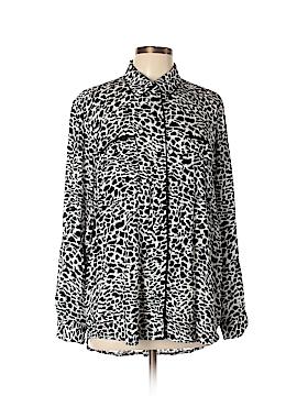 IMAN Long Sleeve Blouse Size XL