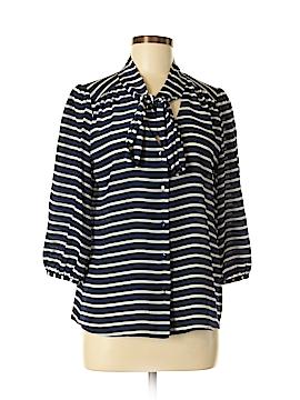 Annie Griffin 3/4 Sleeve Silk Top Size S