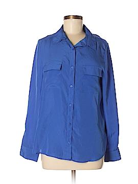 Gianetta Long Sleeve Button-Down Shirt Size M