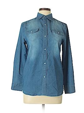 Sovereign Code Long Sleeve Button-Down Shirt Size XL
