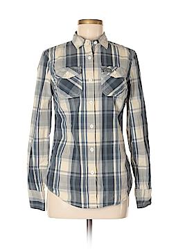 S&D Long Sleeve Button-Down Shirt Size M
