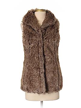 CoffeeShop Faux Fur Vest Size XS