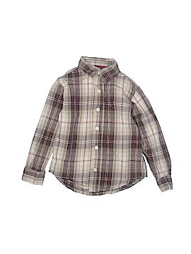 Arizona Jean Company Long Sleeve Button-Down Shirt Size M (Kids)