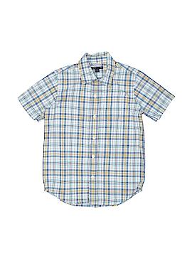 Gap Kids Outlet Short Sleeve Button-Down Shirt Size S (Kids)