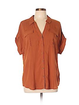 Edme & Esyllte Short Sleeve Button-Down Shirt Size 12