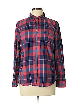 J. Crew Long Sleeve Button-Down Shirt Size L (Petite)