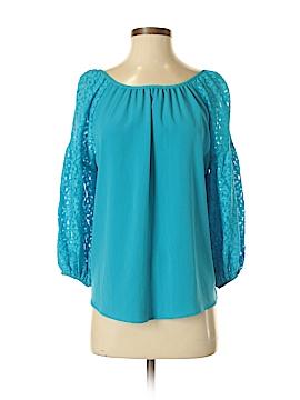 VAVA by Joy Han 3/4 Sleeve Blouse Size S
