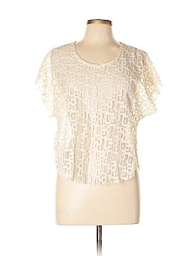 Patterson J. Kincaid Short Sleeve Blouse Size L