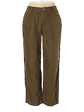 J. Crew Linen Pants Size 14 (Tall)