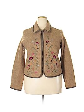 Liz Claiborne Wool Coat Size XL