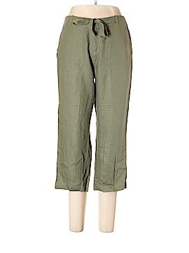 St. John's Bay Linen Pants Size 12 (Petite)